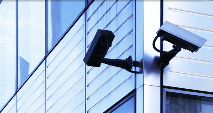 CCTV security camera systems provided by Grantham based Nationwide Security's solution services.